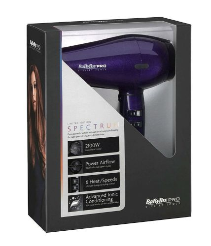 Babyliss Pro Limited Edition Spectrum Hair Dryer Purple Haze BAB6738CU